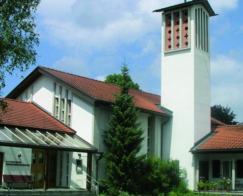 Reutte Dreieinigkeitskirche